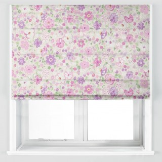 Posy Floral Fabric 223904 by Sanderson