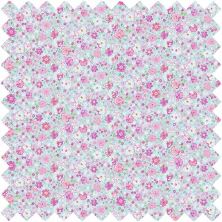 Posy Floral Fabric 223905 by Sanderson