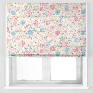 Posy Floral Fabric 223906 by Sanderson