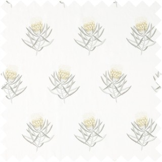 Protea Flower Fabric 236355 by Sanderson
