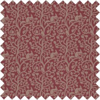 Squirrel & Dove Fabric 233267 by Sanderson