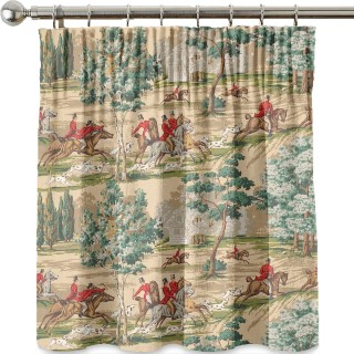 The Hunting Scene Fabric DKH1HU201 by Sanderson