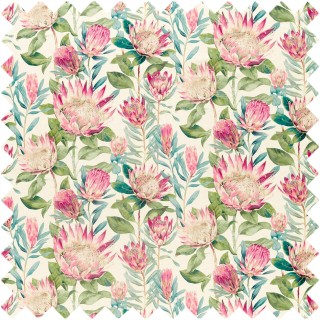 King Protea Fabric 226573 by Sanderson