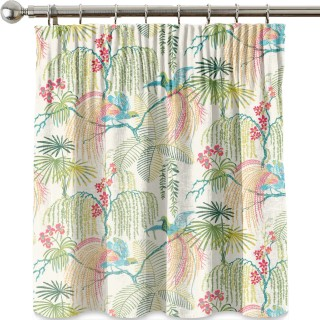 Rain Forest Embroidery Fabric 236777 by Sanderson