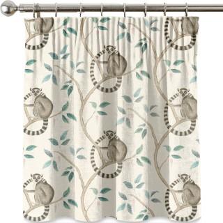 Ringtailed Lemur Fabric 226582 by Sanderson