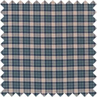 Fenton Check Fabric 236739 by Sanderson