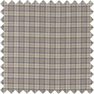 Fenton Check Fabric 236740 by Sanderson