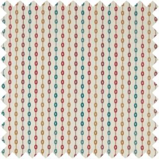Shaker Stripe Fabric 235890 by Sanderson