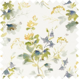 Honey Flowers Fabric 226739 by Sanderson