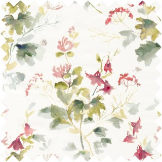 Honey Flowers Fabric 226740 by Sanderson