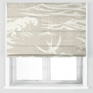 Swallows At Sea Fabric 226742 by Sanderson