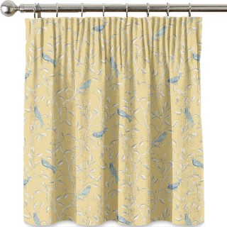 Finches Fabric DOPNFI201 by Sanderson