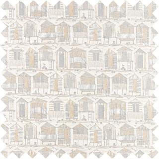Beach Huts Fabric 226491 by Sanderson