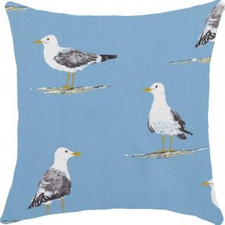 Shore Birds Fabric 226492 by Sanderson