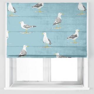 Shore Birds Fabric 226493 by Sanderson