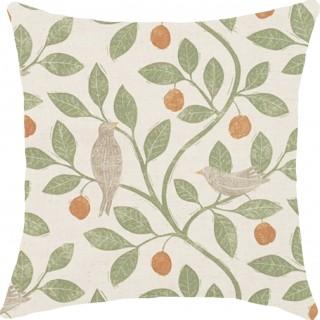 Damson Tree Fabric 226362 by Sanderson