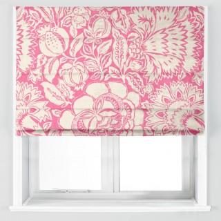 Poppy Damask Fabric 225344 by Sanderson