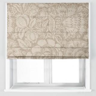 Poppy Damask Fabric 225345 by Sanderson