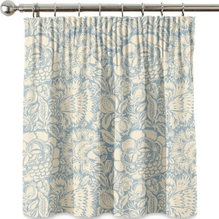Poppy Damask Fabric 225346 by Sanderson