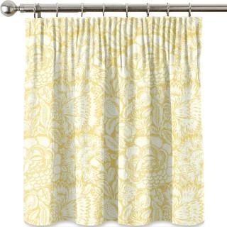 Poppy Damask Fabric 225347 by Sanderson