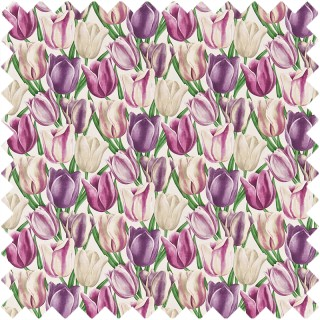 Early Tulips Fabric DVIPEA201 by Sanderson