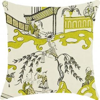 Pagoda River Fabric DVIPPA204 by Sanderson