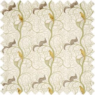 Squirrel and Dove Fabric DVIPSQ303 by Sanderson