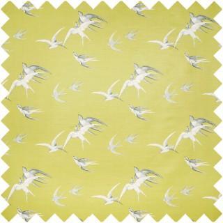 Swallows Fabric DVIPSW201 by Sanderson