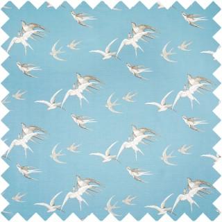 Swallows Fabric DVIPSW203 by Sanderson