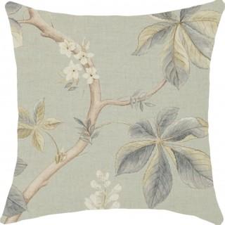 Chestnut Tree Fabric 225513 by Sanderson