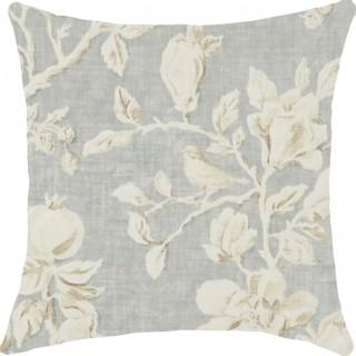 Magnolia & Pomegranate Fabric 225505 by Sanderson