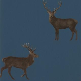 Evesham Deer Wallpaper 216620 by Sanderson