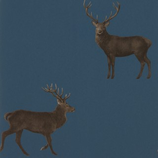 Evesham Deer Wallpaper 216620 by Sanderson