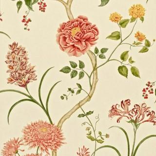 Sanderson Wallpaper A Painters Garden Summer Tree Collection DAPGST102