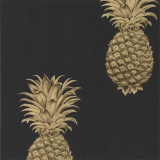 Sanderson Pineapple Royale Wallpaper 216326