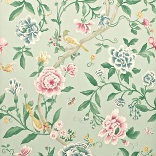 Porcelain Garden Wallpaper DCAVPO103 by Sanderson