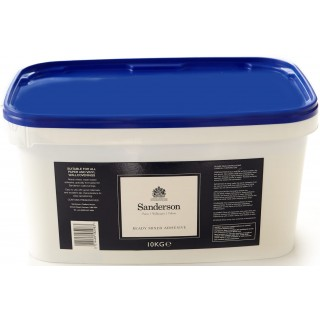 Sanderson Elite Ready Mixed Adhesive Paste 10kg Tub