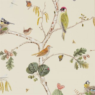 Woodland Chorus Wallpaper 215703 by Sanderson