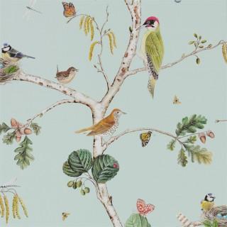 Woodland Chorus Wallpaper 215706 by Sanderson