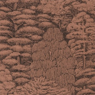 Woodland Toile Wallpaper 215719 by Sanderson