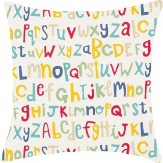 Letters Play Fabric 120457 by Scion