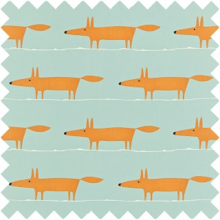 Mr Fox Fabric 120072 by Scion
