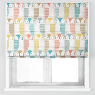 Barnie Owl Fabric 120635 by Scion
