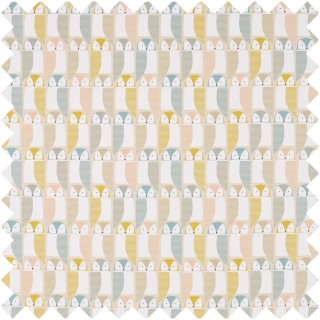 Barnie Owl Fabric 120636 by Scion