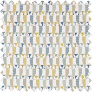Barnie Owl Fabric 120637 by Scion