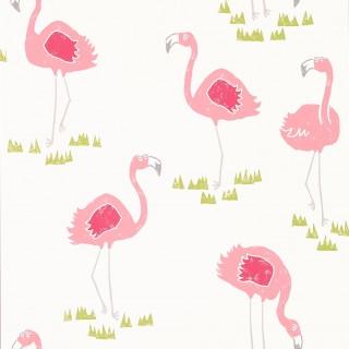 Felicity Flamingo Wallpaper 111277 by Scion