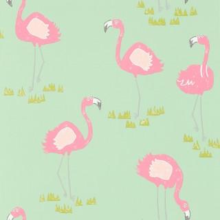 Felicity Flamingo Wallpaper 111278 by Scion