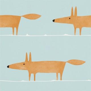 Mr Fox Wallpaper 110849 by Scion