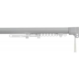 Silent Gliss SG 3840 Corded Anodic Grey Aluminium Curtain Track