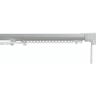 Silent Gliss SG 3840 Corded Anodised Silver Aluminium Curtain Track